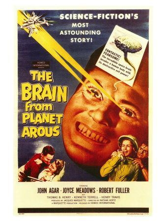 The Brain From Planet Arous, 1958