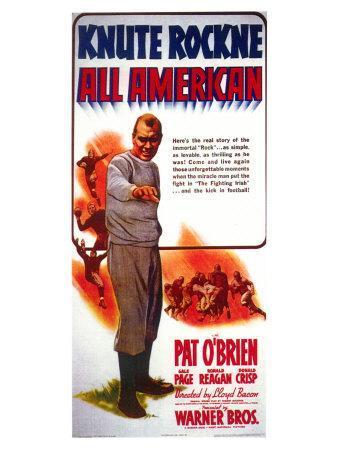 Knute Rockne All American, 1940