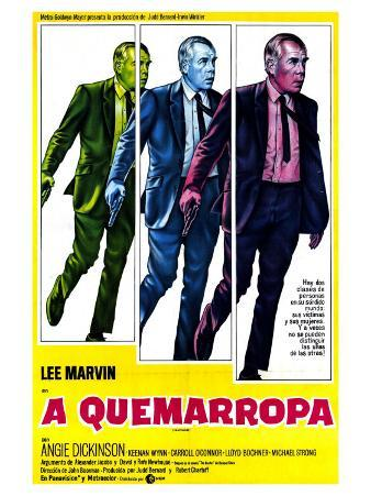 Point Blank, Argentine Movie Poster, 1967
