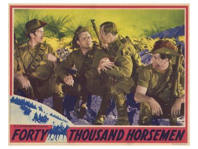 Forty Thousand Horsemen, 1941
