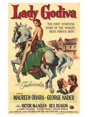 Lady Godiva, 1955