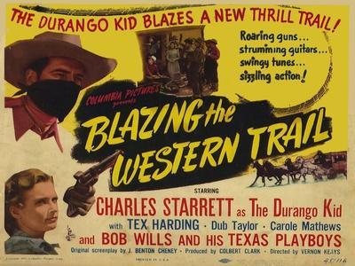 Blazing the Western Trail, 1945