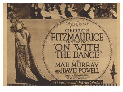 On With the Dance, 1920