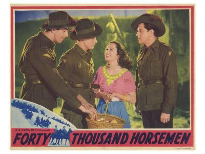 Forty Thousand Horsemen, 1941