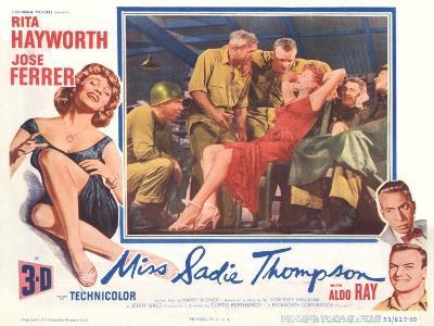 Miss Sadie Thompson, 1953