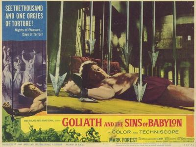 Goliath and the Sins of Babylon, 1964