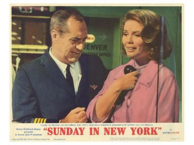 Sunday in New York, 1964