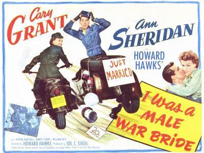 I Was a Male War Bride, 1949