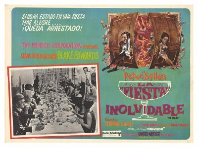 The Party, Spanish Movie Poster, 1968