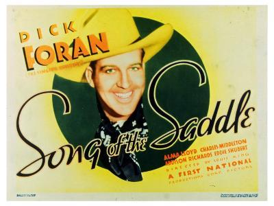 Song of the Saddle, 1936