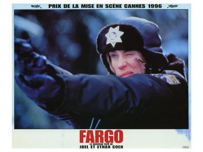 Fargo, French Movie Poster, 1996