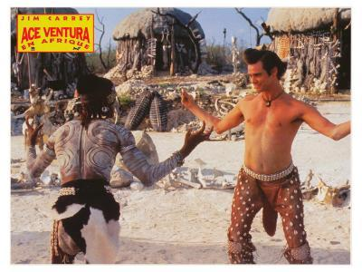 Ace Ventura: When Nature Calls, French Movie Poster, 1995