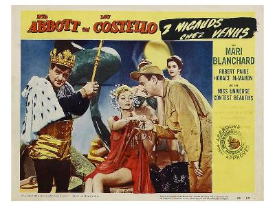 Abbott and Costello Go to Mars, 1953