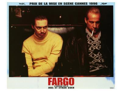 Fargo, French Movie Poster, 1996