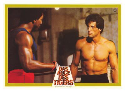 Rocky 3, German Movie Poster, 1982
