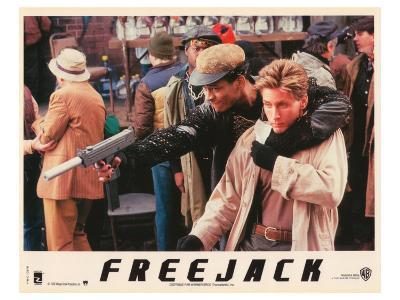 Freejack, French Movie Poster, 1992