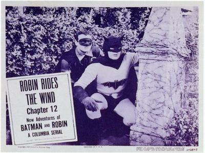 Batman and Robin, 1949