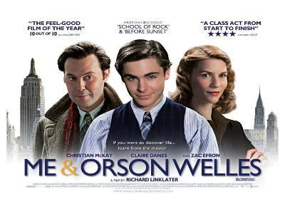 Me and Orson Welles, UK Movie Poster, 2009