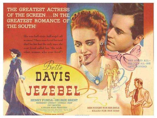 Image result for Jezebel 1938 poster