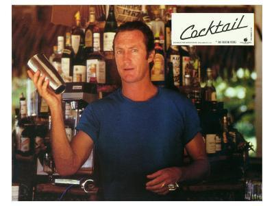 Cocktail, French Movie Poster, 1988