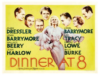 Dinner at Eight, UK Movie Poster, 1933