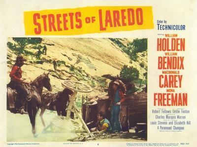 Streets of Laredo, 1956