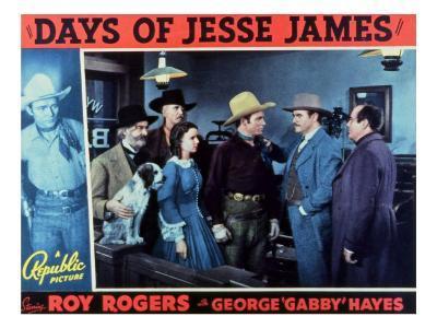 Days of Jesse James, 1939