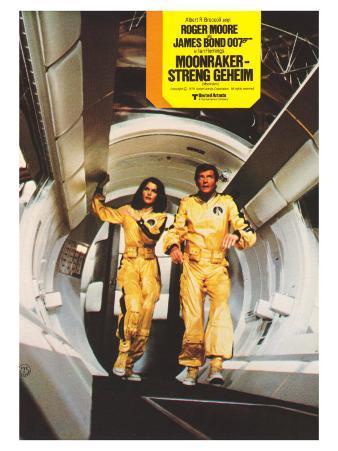Moonraker, German Movie Poster, 1979