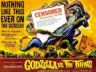 Godzilla vs The Thing, 1964
