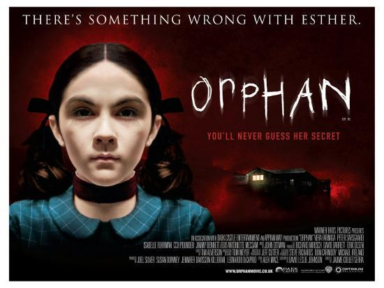 Orphan, UK Movie Poster, 2009' Premium Giclee Print - | AllPosters.com