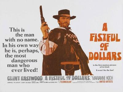 For a Few Dollars More, UK Movie Poster, 1966