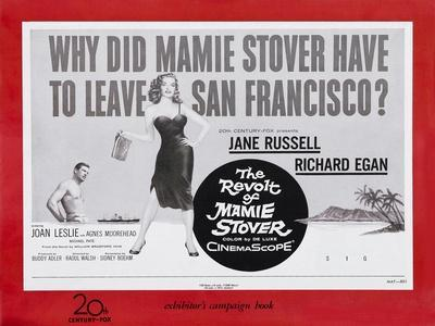 The Revolt of Mamie Stover, UK Movie Poster, 1956