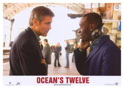 Ocean's Twelve, French Movie Poster, 2004