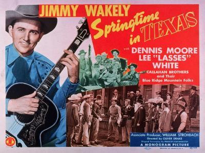 Springtime In Texas, 1945