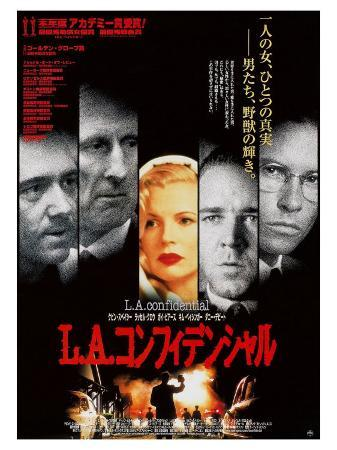 L.A. Confidential, Japanese Movie Poster, 1997
