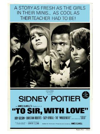 To Sir With Love, Australian Movie Poster, 1967
