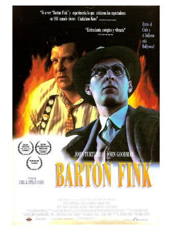 Barton Fink, Spanish Movie Poster, 1991