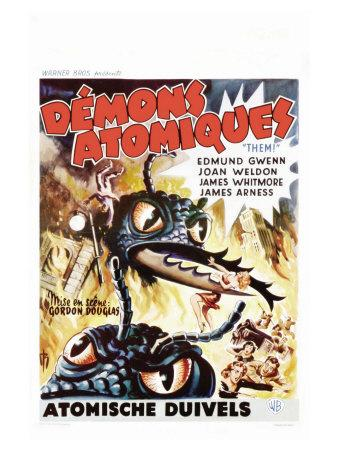 Them!, Belgian Movie Poster, 1954