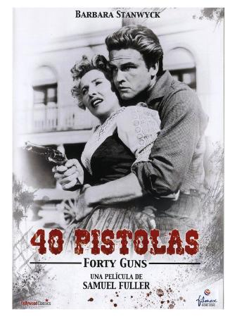 Forty Guns, Spanish Movie Poster, 1957