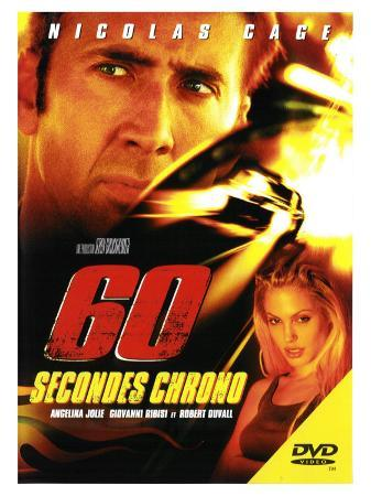Gone in 60 Seconds, French Movie Poster, 2000