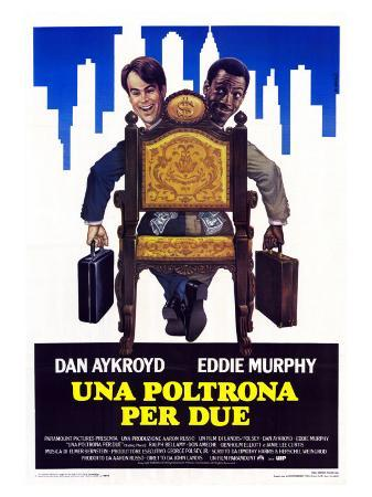 Trading Places, Italian Movie Poster, 1983
