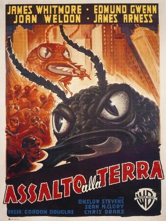 Them!, Italian Movie Poster, 1954