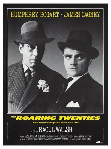 The roaring twenties James Cagney movie poster print