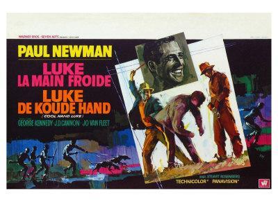 Cool Hand Luke, Belgian Movie Poster, 1967