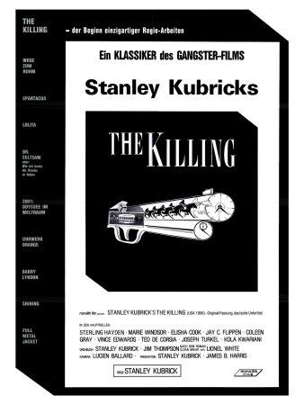 The Killing, German Movie Poster, 1956