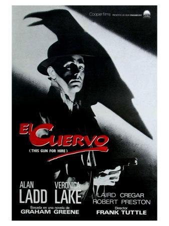 This Gun For Hire, Spanish Movie Poster, 1942