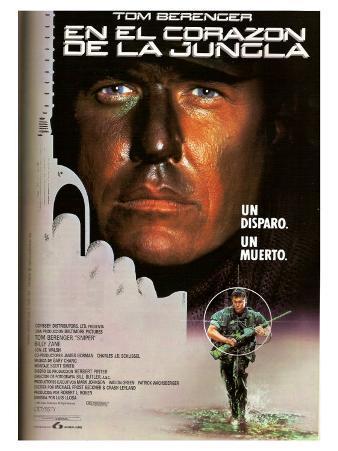 Sniper, Spanish Movie Poster, 1992