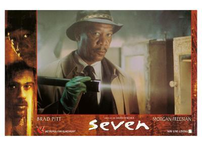 Seven, French Movie Poster, 1995