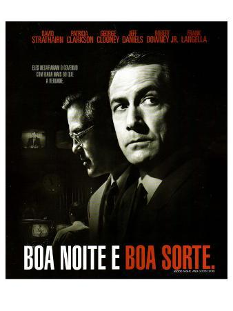 Good Night and Good Luck, Brazilian Movie Poster, 2005
