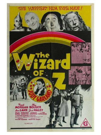 The Wizard of Oz, Australian Movie Poster, 1939